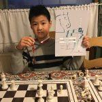 William, Yuhong en Yuway in de persoonlijke finale van het NK Schoolschaak 345!